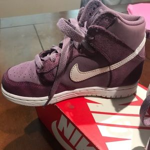 Girls Nike high tops